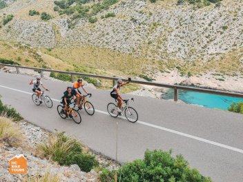 Mallorca bike camp 2021 - road to Cap Formentor - HC Bike Tours