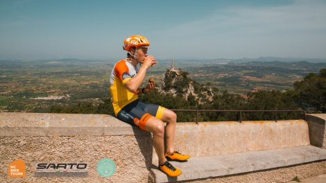 Enjoy cycling in Mallorca and custom riding routes free of charge with HC Bike Tours - the founder Aigars Paegle