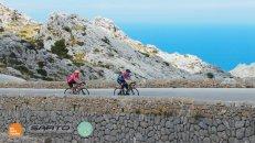 Mallorca cycling most famous climb Sa Calobra also called Coll dels Reis - HC Bike Tours Mallorca camp 2021