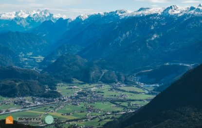 Rossfeld Panorama Strasse view of Explorer Austria + Slovenia bike trip with HC Bike Tours