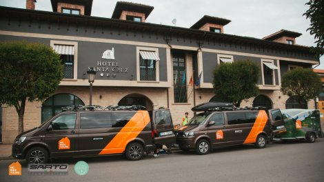 Book SAG van support services in Mallorca with HC Bike Tours