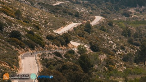 Mountains around Calpe cycling tours with HC Bike Tours