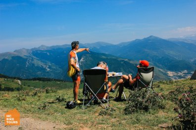 Col d`Aspin best coffee stop while cycling in the Pyrenees | HC Bike Tours